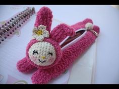 diy pencil case crochet character my melody - YouTube