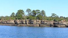 Greers Ferry Lake, Arkansas.... I live on this lake! Soooooooo pretty