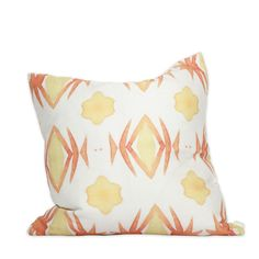 Cali Watercolor Pillow by bunglo