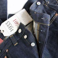 LVC (Levi's Vintage Clothing) - 1933 Model 501XX Jeans(rigid)