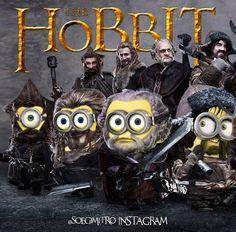 The Hobbit Minions. Minion Art, Cute Minions, Minion Jokes, Minions Despicable Me, Minions Quotes, Funny Minion, Minions 2014, It's Funny, Minion Pictures