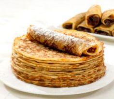 Pannekoeken met stroop. Pancake with syrup.    LOVED the pannekoeken met ham and kas.....  omg the best ever!!!
