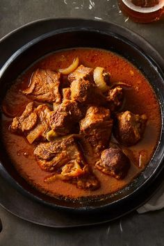 For this recipe, you will want to have plenty of crusty bread on hand to soak up all the juices. Slow Cooker Pork, Slow Cooker Recipes, Crockpot Recipes, Cooking Recipes, Grilling Recipes, Peruvian Dishes, Peruvian Recipes, Pork Adobo Recipe, Pork Stew