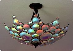 Stained Glass Lamps, Mosaic Glass, I Love Lamp, Unique Lighting, Dream Decor, Home Deco, Decoration, Lamp Light, Creations