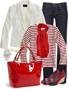 """""""Red"""" by luv2shopmom on Polyvore"""