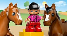 #Lego Duplo Party  5648 Horse Stables