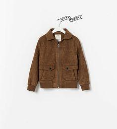 5e59c1aec Afbeelding 1 van SYNTHETISCH LEREN JACK van Zara jackets fall 2014 Boutique  Zara