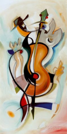 Musical Art - We be jammin. By: Alfred Gockel. Alfred Gockel, Jazz Poster, Print Poster, Jazz Art, Music Artwork, Love Art, Art Lessons, Art Decor, Abstract Art