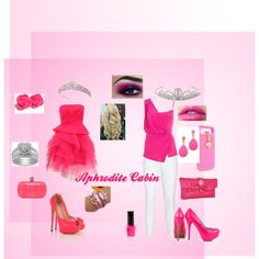 """""""Aphrodite Cabin"""" by snow-chick-shawnee on Polyvore"""