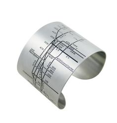 NY Subway Map Bracelet