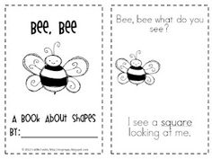 perfect for spring, shapes, and reading!