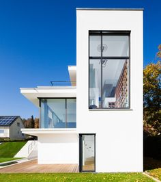 philipp architekten places study in white at the foot of the swabian alb - designboom | architecture