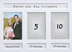 Wedding Anniversary Photo Frame Series