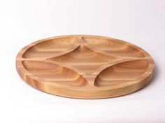 wooden serving dishes