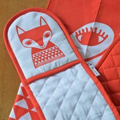 double gant Renard Jane Foster - deco-graphic.com