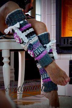 c396955c0 Ravelry  Anelmaiset Sisu Leg warmers pattern by Anelma Kervinen 4 Ply Yarn