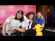 Blake Anderson, Anders Holm, Kyle Newacheck at ComicCon 2015