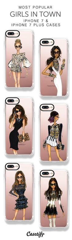 Most Popular Girls In Town iPhone 7 Cases & iPhone 7 Plus Cases here > https://www.casetify.com/anumt/collection?