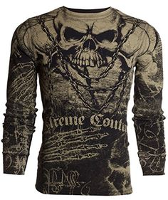 on sale efc0f cd2f8 Amazon.com  affliction shirts men  Clothing  amp  Accessories Types Of  Shirts,