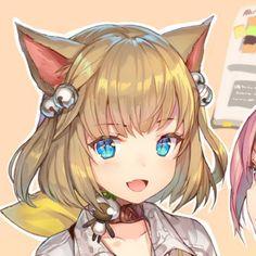 #Climo Anime Girl Neko, Anime Neko, Anime Art Girl, Manga Anime, Anime Couples Drawings, Anime Couples Manga, Yuri, Anime Friendship, Estilo Anime
