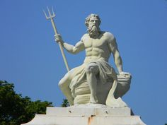 1000 images about gods of history on pinterest statue the titans and greek gods - Poseidon statue greece ...
