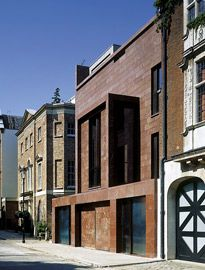 The Red House in ondon by Tony Fretton Architects