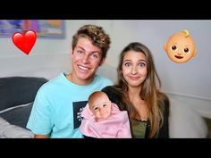 BECOMING PARENTS TO BABY FOR 24 HOURS! Ft. Lexi Rivera - YouTube Sam Pottorff, Carter Reynolds, Emo Guys, Brent Rivera, Taylor Caniff, Hayes Grier, Wentworth Miller, Austin Mahone, Cameron Dallas