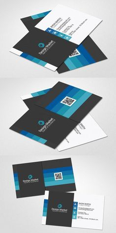 Creative Business Card Template. Medical Infographic. $6.00