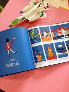 Bohatě ilustrovaná kniha popisuje známá světová města pěkně podle abecedy. Zeměpisná knížka pro děti, naučná kniha pro děti. Office Supplies