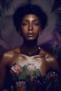 Alluring ethnic beauty