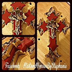 Red Camo Cross