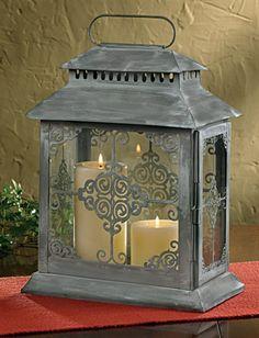 Rue Du Marche Candle Lantern by Park Designs