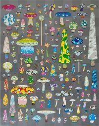 Posi Mushroom by Takashi Murakami