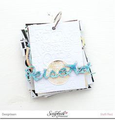 """Minialbum """"Reisezeit"""" - Scrap Sweet Scrap"""