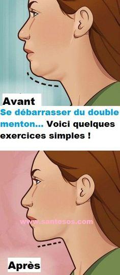 Se débarrasser du double menton… Voici quelques exercices simples ! - #minceur #perdre #perdredu #perdredupoids #poids