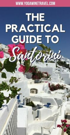 Santorini Travel Guide: The Crown Jewel of the Cyclades Europe Destinations, Europe Travel Tips, Travel Guides, Places To Travel, Greece Vacation, Greece Travel, Greece Trip, Santorini Travel, Santorini Greece