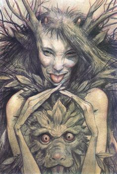 Faerie by Brian Froud.
