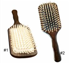 New Wooden Combs Paddle Brush Wooden Hair Care Spa Massage Antistatic Comb For Women High Quality J19 #Affiliate
