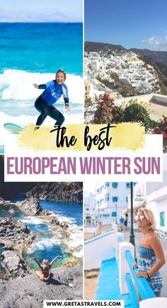 The Best European Winter Sun. If you're looking for some winter sun, without having to fly half way across the world, this compilation of the warmest places in Europe in winter is exactly what you need! I We listed all the best European winter sun destinations, so you can enjoy a warm getaway during the cold winter months. #europe #winter #winterholiday #europeholiday #europetraveltips #wintertraveltips Europe Holidays, Winter Holidays, Europe Travel Tips, Travel Advice, Winter Sun Destinations, Places In Europe, Winter Months, Winter Travel, Good Things