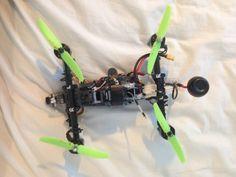 TDR_250_V_9.3 Drone prototype