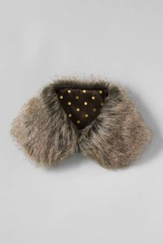 Girls' Faux Fur Collar from Lands' End