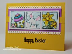 Stamp Smiles: Progressively Getting Closer to Easter!