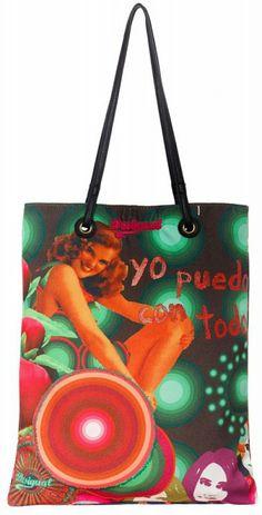 Desigual női táska Bags, Fashion, Purses, Moda, Fashion Styles, Taschen, Totes, Hand Bags, Fashion Illustrations