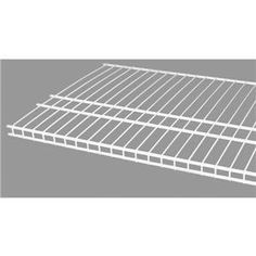 ClosetMaid 473500 SuperSlide White Linen Shelf