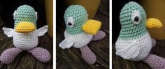 Picture1 Crochet Duck Pattern:  Sarah and Duck - http://www.lookatwhatimade.net/crafts/yarn/crochet/free-crochet-patterns/crochet-duck-pattern-sarah-and-duck/