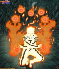 Naruto Uzumaki Modo Bijuu Read Naruto Manga Online