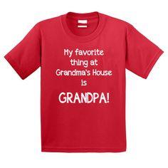 Christmas shirt for kids gift for grandma grandpa by StoykoTs