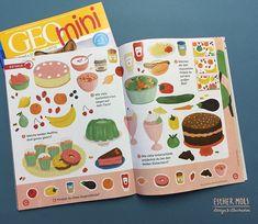 A douple spread puzzle i illustrated for Geo Mini, a German kids magazine. #editorialillustration #illustration