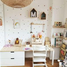 Nursery Room, Kids Bedroom, Looking For Houses, Cute Desk, Dreams Beds, Inside Home, Baby Boy Rooms, Home And Deco, House Rooms