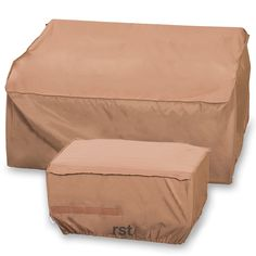 Love Seat and Ottoman Covers 2 Pack